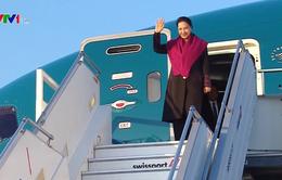 Chủ tịch Quốc hội Nguyễn Thị Kim Ngân đến Thụy Sĩ tham dự IPU-138