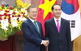 Tuyên bố chung Việt Nam - Hàn Quốc hướng tới tương lai
