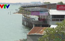 Khánh Hòa: Đầm Thủy Triều bị các nhà hàng lấn chiếm diện tích