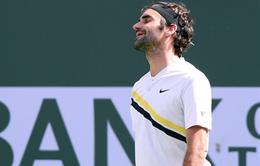 Miami mở rộng 2018: Roger Federer bất ngờ vấp ngã tại vòng 2