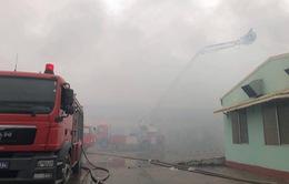 Khẩn trương khắc phục hậu quả vụ cháy tại Vĩnh Phúc