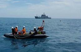 Bà Rịa - Vũng Tàu: Cứu hộ 3 thuyền viên tàu Phú Mỹ 17 bị chìm tại khu vực vịnh Gành Rái