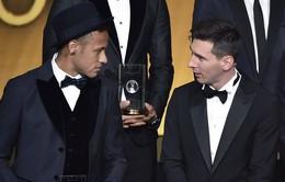 Messi khuyên Neymar gia nhập Man City