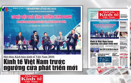 Nền kinh tế Việt Nam 2018 có nhiều khởi sắc
