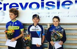 Nguyễn Thị Thật chiến thắng ở Giải Grand Prix Crevoisier