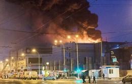 Con số thiệt mạng trong vụ cháy trung tâm thương mại ở Nga tăng lên 64 người
