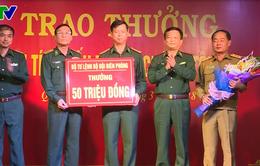 Bộ Tư lệnh Bộ đội Biên phòng khen thưởng chiến công phá án ma túy