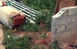 Lào Cai: Sập cổng trường học, một học sinh thiệt mạng