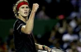 Vòng 3 Miami mở rộng: Alexander Zverev ngược dòng thắng David Ferrer