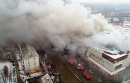 Việt Nam gửi điện thăm hỏi Nga về vụ cháy trung tâm thương mại tại Kemerovo