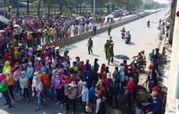 Đồng Nai: Hơn 14.000 công nhân Pouchen ngừng việc tập thể đã đi làm trở lại