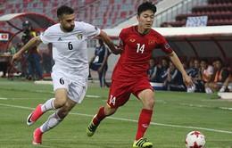 Jordan 1-1 ĐT Việt Nam: Chia điểm đáng tiếc trên sân khách!