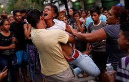 Bạo loạn tại đồn cảnh sát ở Venezuela