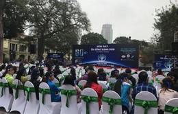 1.000 tình nguyện viên tham gia biểu diễn phát động Giờ Trái đất 2018