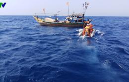 Cứu thuyền viên tàu cá Quảng Nam bị tai nạn lao động nguy kịch trên biển