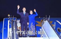 Chủ tịch nước Trần Đại Quang bắt đầu chuyến thăm cấp Nhà nước Cộng hòa Ấn Độ