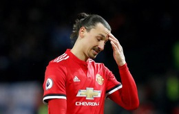 Sẽ không có trận đấu chia tay Man Utd của Ibrahimovic