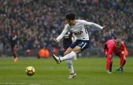 Tottenham 2-0 Huddersfield: Son Heung-min lập cú đúp, Tottenham leo lên vị trí thứ 3