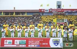 Vòng 7 V.League 2018, FLC Thanh Hoá – CLB Sài Gòn: 17h00 hôm nay, trực tiếp trên VTV6