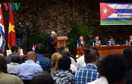 Tổng Bí thư dự bế mạc cuộc gặp thanh niên hai nước Việt Nam - Cuba