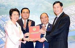 Thủ tướng tiếp Thủ tướng Thái Lan