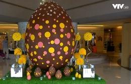 Quả trứng nặng 200kg mừng lễ Phục sinh tại Dubai