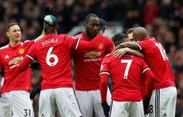 Lukaku cán mốc 100 bàn thắng tại Ngoại hạng Anh