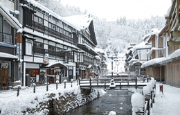 Ginzan Onsen: Ngôi làng mùa đông quyến rũ nhất Nhật Bản