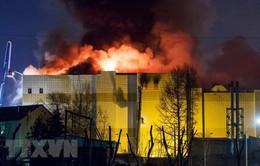 Nga khởi tố 7 người trong vụ cháy trung tâm thương mại