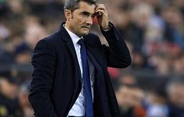 """Barca rơi """"bảng tử thần"""" Champions League, HLV Valverde nói gì?"""