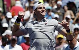 Miami mở rộng 2018: Hạ gục Del Potro, John Isner thẳng tiến vào chung kết