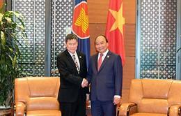 Thủ tướng tiếp Tổng thư ký ASEAN