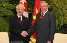 Toàn văn Tuyên bố chung Việt Nam - Cuba