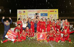 Hành trình đến ngôi vô địch của U19 tuyển chọn Việt Nam