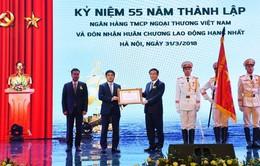 Vietcombank kỷ niệm 55 năm Ngày thành lập và đón nhận Huân chương Lao động hạng Nhất