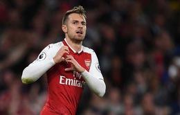 Chuyển nhượng bóng đá quốc tế ngày 04/3: Arsenal muốn bán Ramsey ở kỳ chuyển nhượng hè