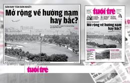 Câu hỏi mở rộng sân bay Tân Sơn Nhất về phía Bắc hay Nam chưa có lời đáp