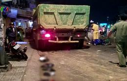 Nguyên nhân vụ xe ben đâm hàng loạt xe máy ở TP.HCM
