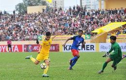 Trước lượt trận thứ 3 AFC Cup: SLNA và FLC Thanh Hóa so tài với các đội bóng Indonesia