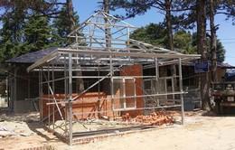 Cưỡng chế các công trình xây dựng trái phép tại biệt thự cổ 22 Hùng Vương (Đà Lạt)