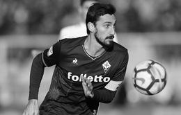 Làng bóng đá thế giới thương tiếc trước sự ra đi đột ngột của Davide Astori
