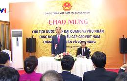 Chủ tịch nước gặp gỡ đại diện cộng đồng người Việt tại Bangladesh
