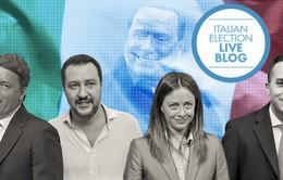 Phe cánh hữu chống Liên minh châu Âu về đầu trong bầu cử Italy