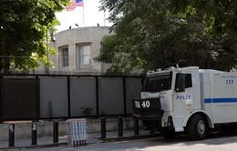Mỹ tạm đóng cửa Đại sứ quán tại Thổ Nhĩ Kỳ do vấn đề an ninh