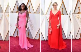 Thảm đỏ Oscar 2018: Từ sang chảnh đến bánh bèo đều có!