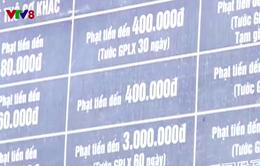 Phú Yên: Bảng tuyên truyền an toàn giao thông không còn tác dụng