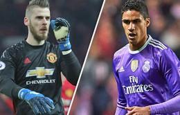 """Chuyển nhượng bóng đá quốc tế ngày 06/3: Real quyết """"dụ dỗ"""" Man Utd nhả De Gea"""