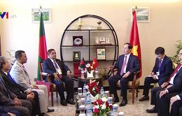 Việt Nam ủng hộ việc mở đường bay thẳng với Bangladesh