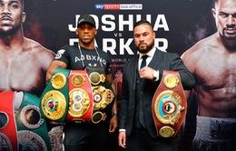 """""""Siêu kinh điển"""" boxing Anthony Joshua - Joseph Parker trên VTVcab"""