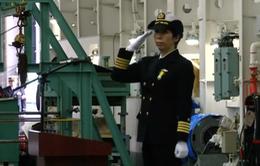 Nhật Bản bổ nhiệm nữ chỉ huy hải quân đầu tiên